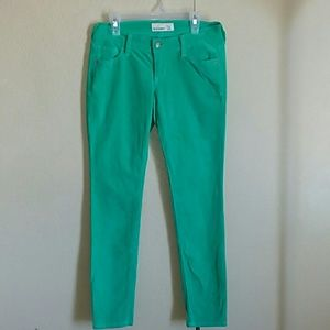 Old navy Turquoise skinny jeans size 4